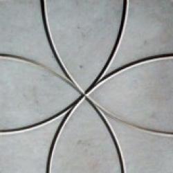 Тротуарная плитка Цветок